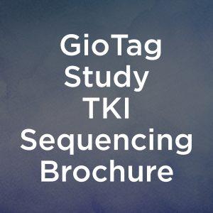 GioTag Study TKI Sequencing Brochure