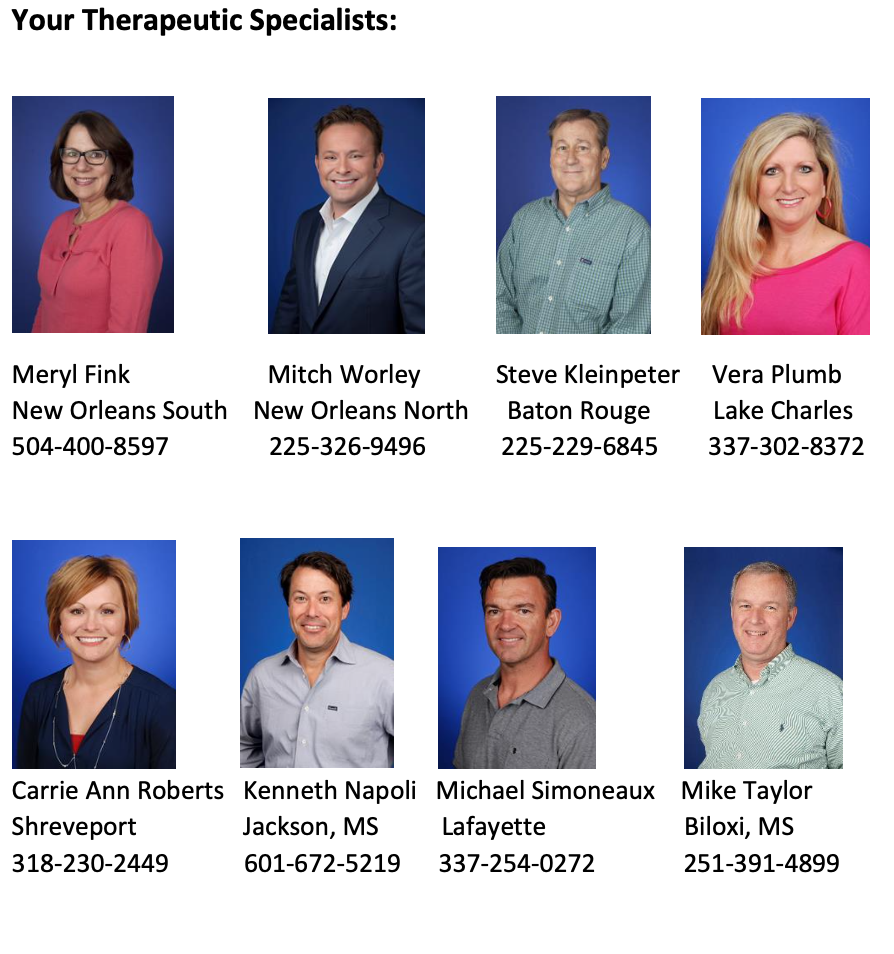 Your Therapeutic Specialists