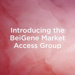 Introducing the BeiGene Market Access Group