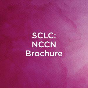 SCLC - NCCN Brochure